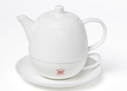 TEA FOR ONE DEMMER TEAHOUSE 0,4L Fine Bone China